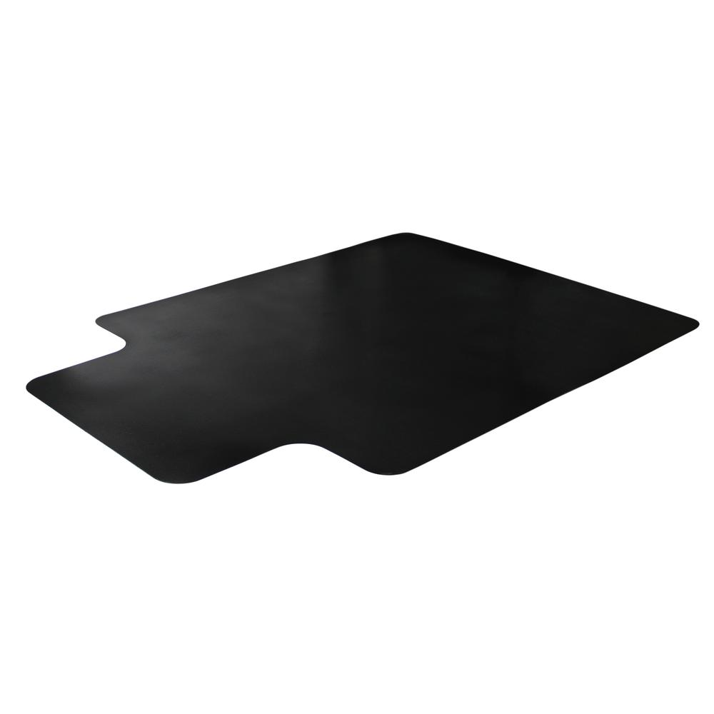 "Vinyl Lipped Chair Mat for Carpets - 45"" x 53"". Picture 4"
