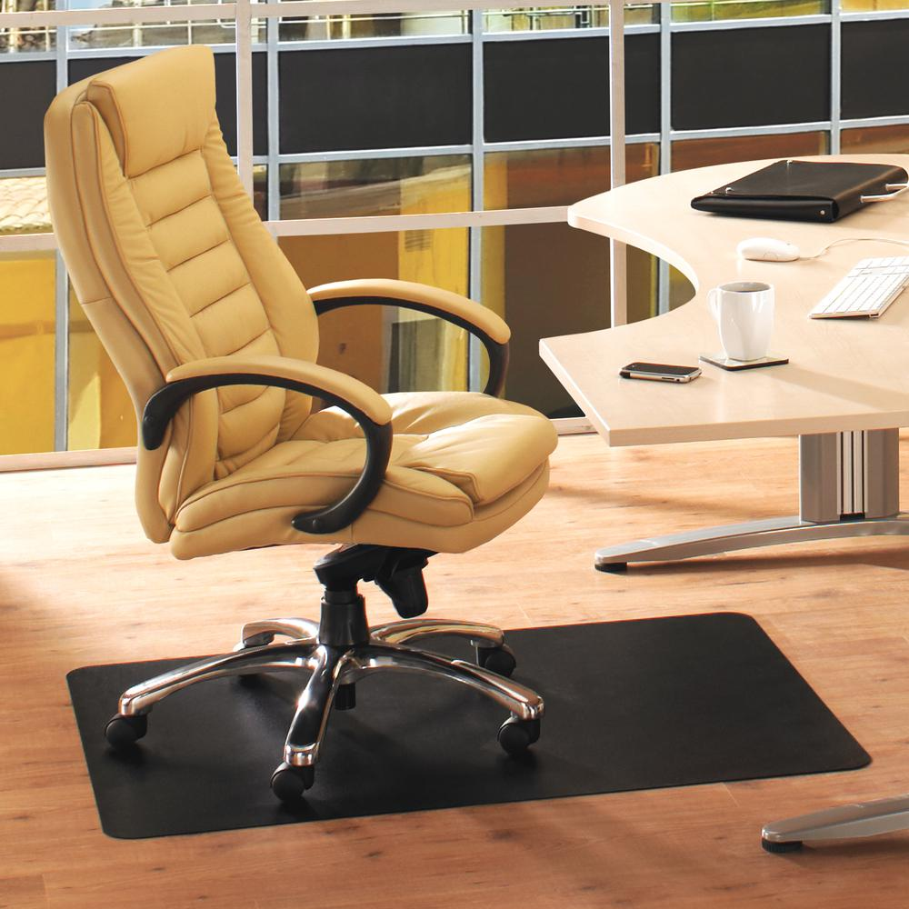 "Vinyl Rectangular Chair Mat for Hard Floor - 48"" x 60"". Picture 2"