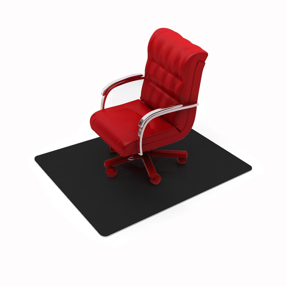 "Vinyl Rectangular Chair Mat for Hard Floor - 48"" x 60"". Picture 4"