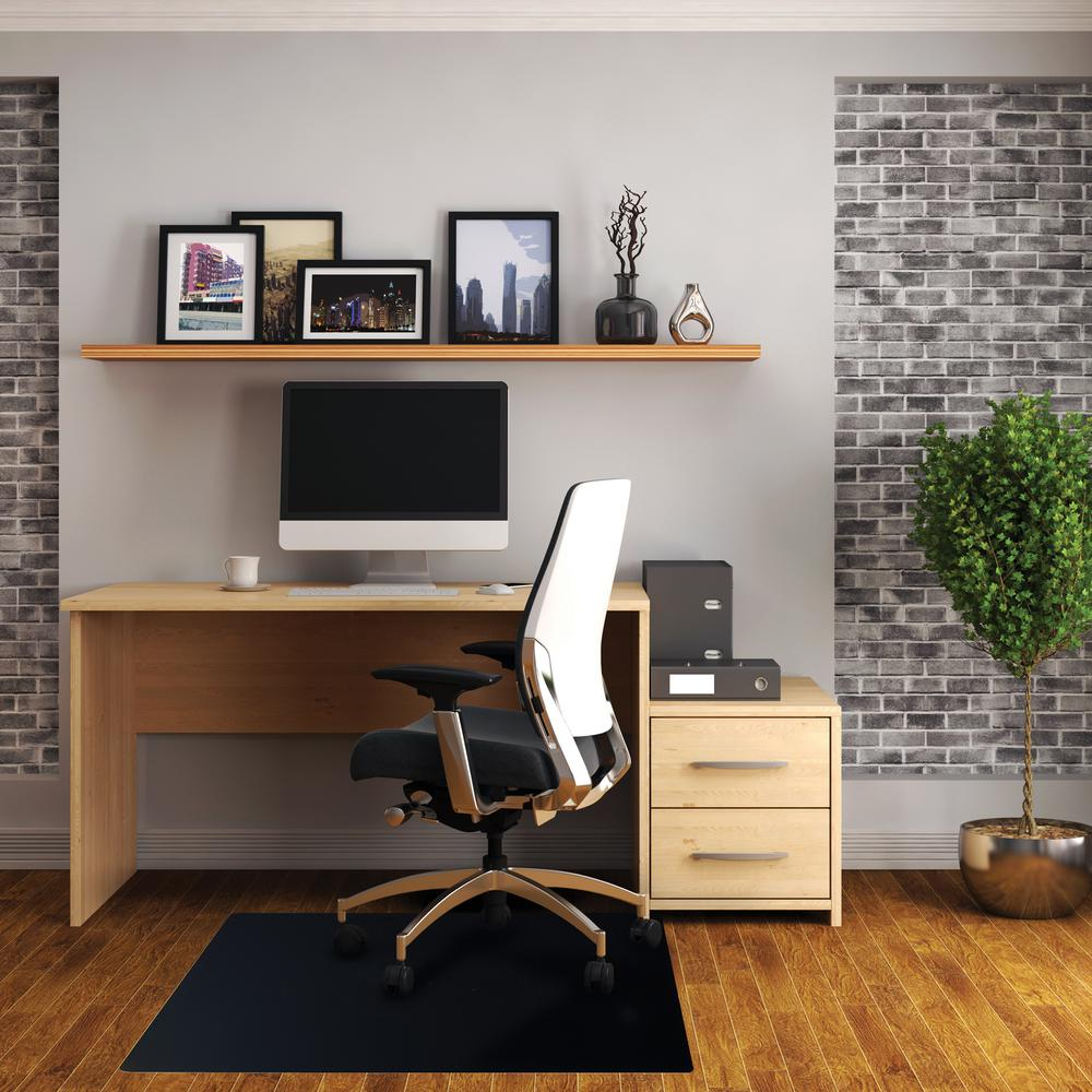 "Vinyl Rectangular Chair Mat for Hard Floor - 48"" x 60"". Picture 1"