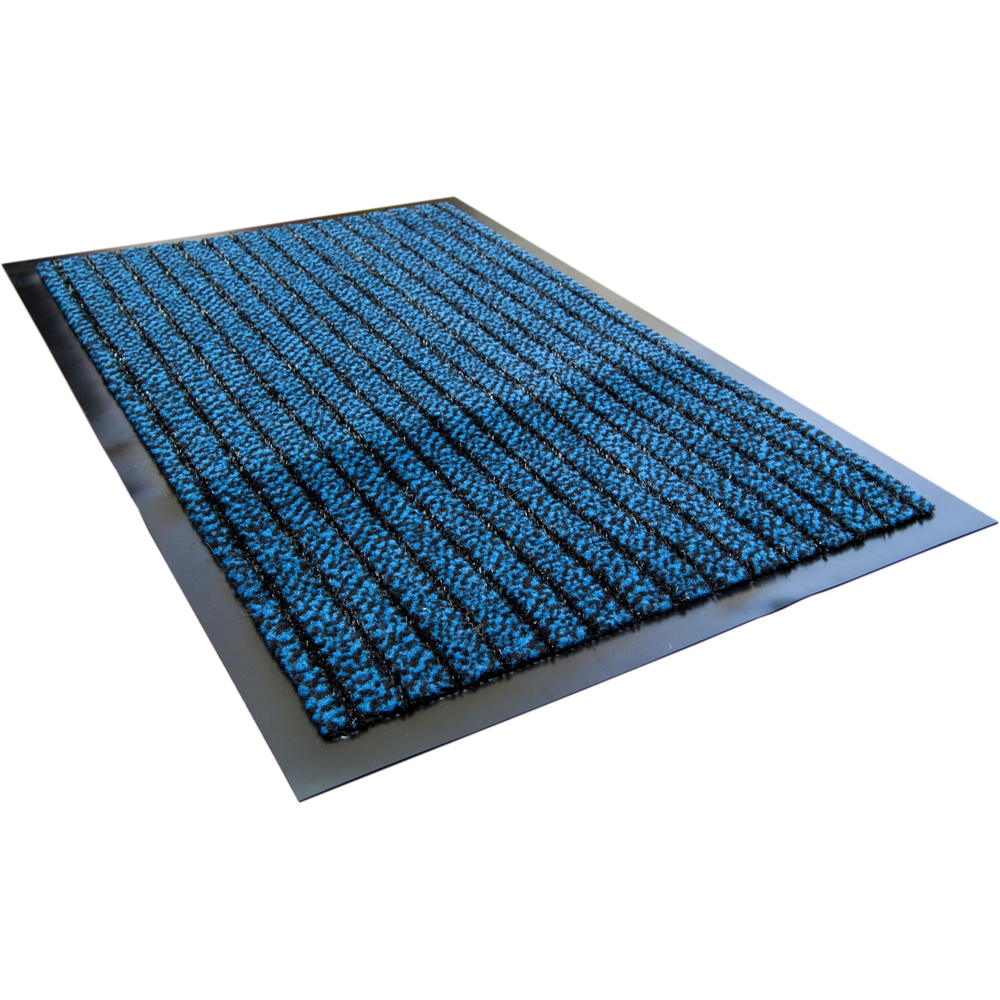 """Doortex Ultimat Rectangular Indoor Entertance Mat in Blue (24""""x32""""). Picture 1"""