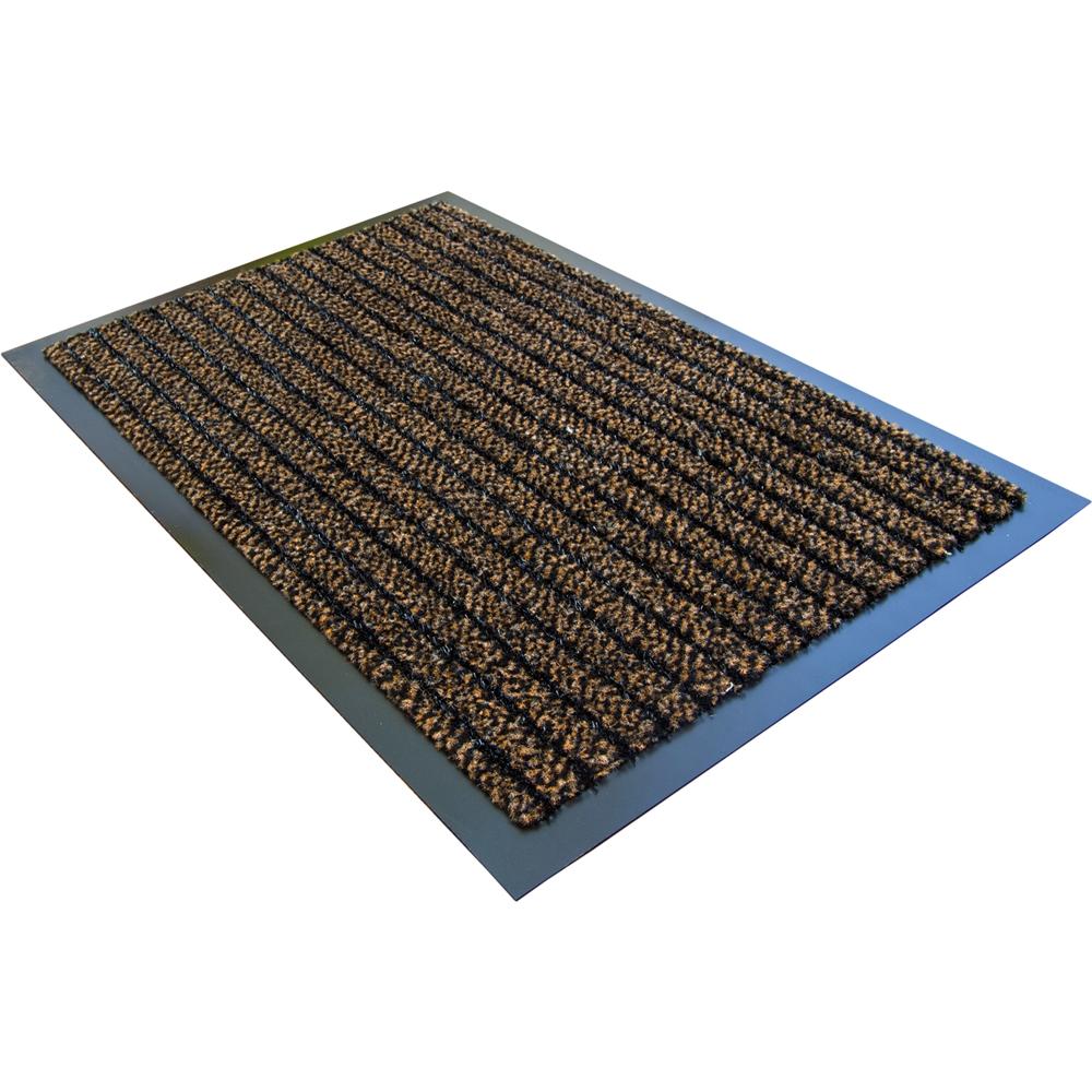 """Doortex Ultimat Rectangular Indoor Entertance Mat in Brown (24""""x32""""). Picture 1"""
