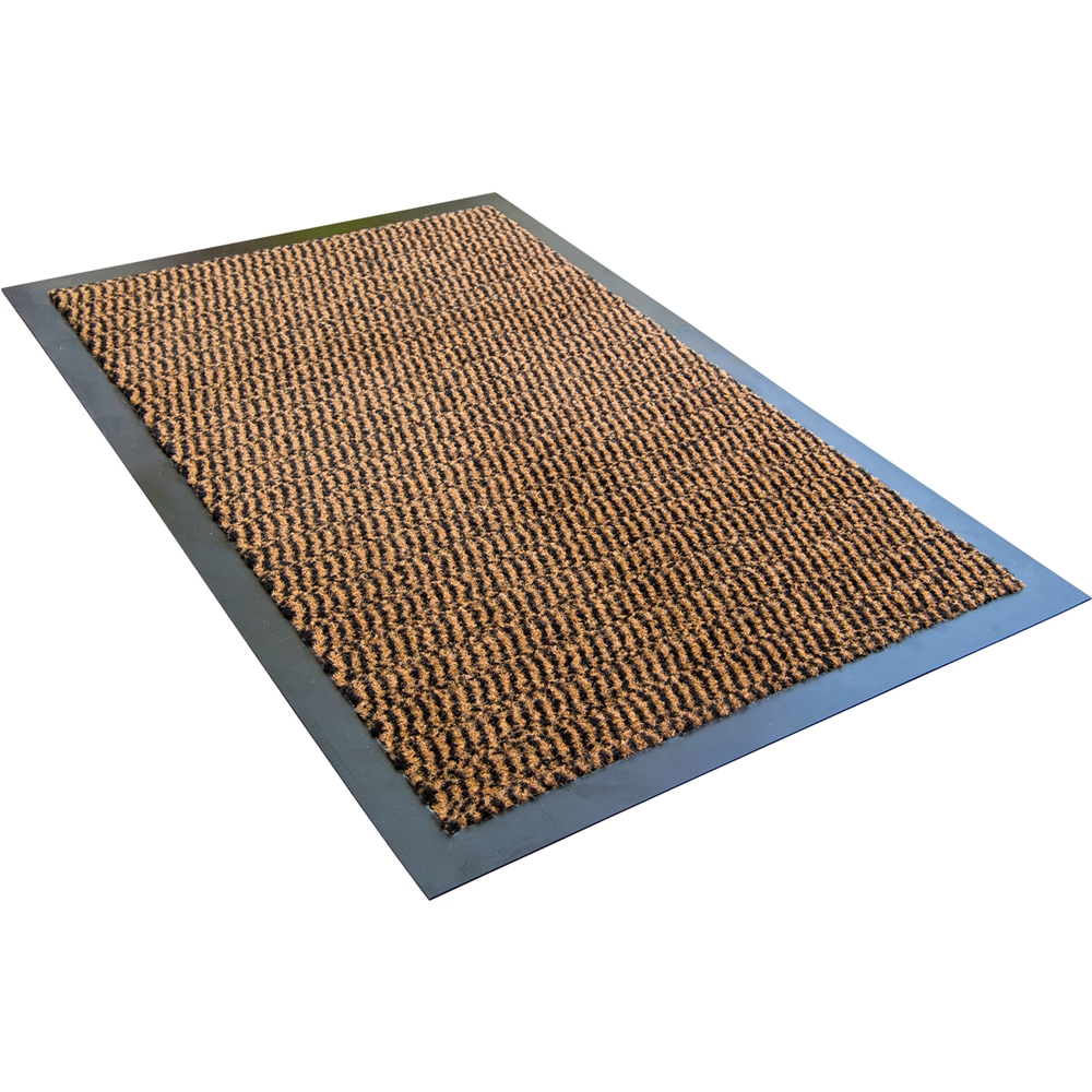 "Doortex Advantagemat Rectagular Indoor Enterance Mat in Brown (24""x36""). Picture 1"
