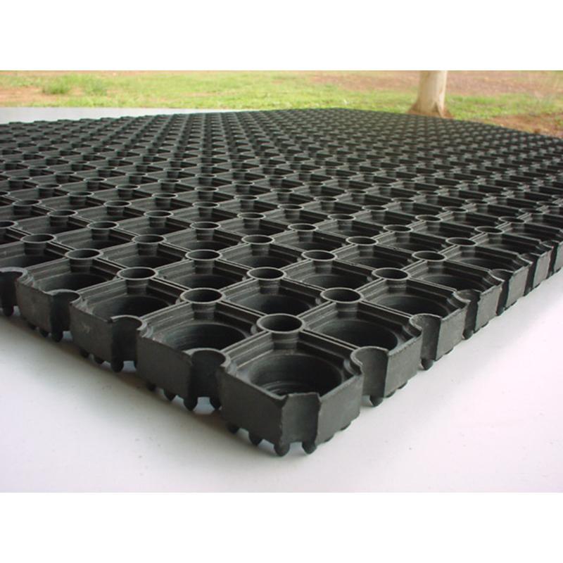 "Doortex Octomat Heavy Duty Outdoor Entrance mat, Black (40""x60""). Picture 2"