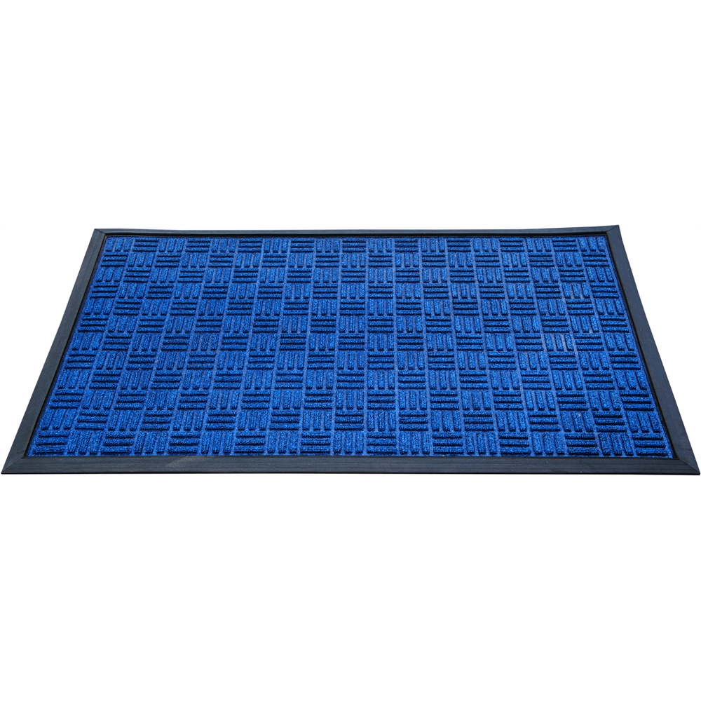 """Doortex Ribmat heavy duty Indoor / Outdoor Entrance mat in Blue (36""""x60""""). Picture 1"""