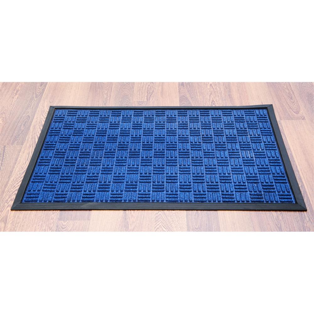 """Doortex Ribmat heavy duty Indoor / Outdoor Entrance mat in Blue (36""""x60""""). Picture 3"""
