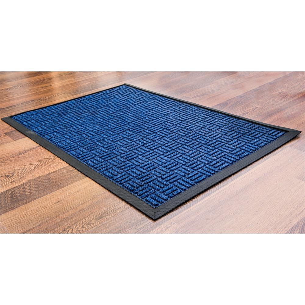 """Doortex Ribmat heavy duty Indoor / Outdoor Entrance mat in Blue (36""""x60""""). Picture 4"""