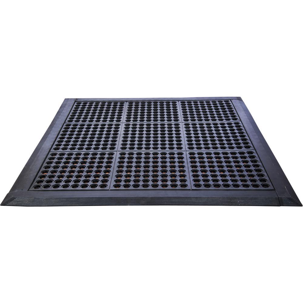 "Doortex Anti-FatigueMat - Modular System 36"" x 36"" - Black. Picture 1"