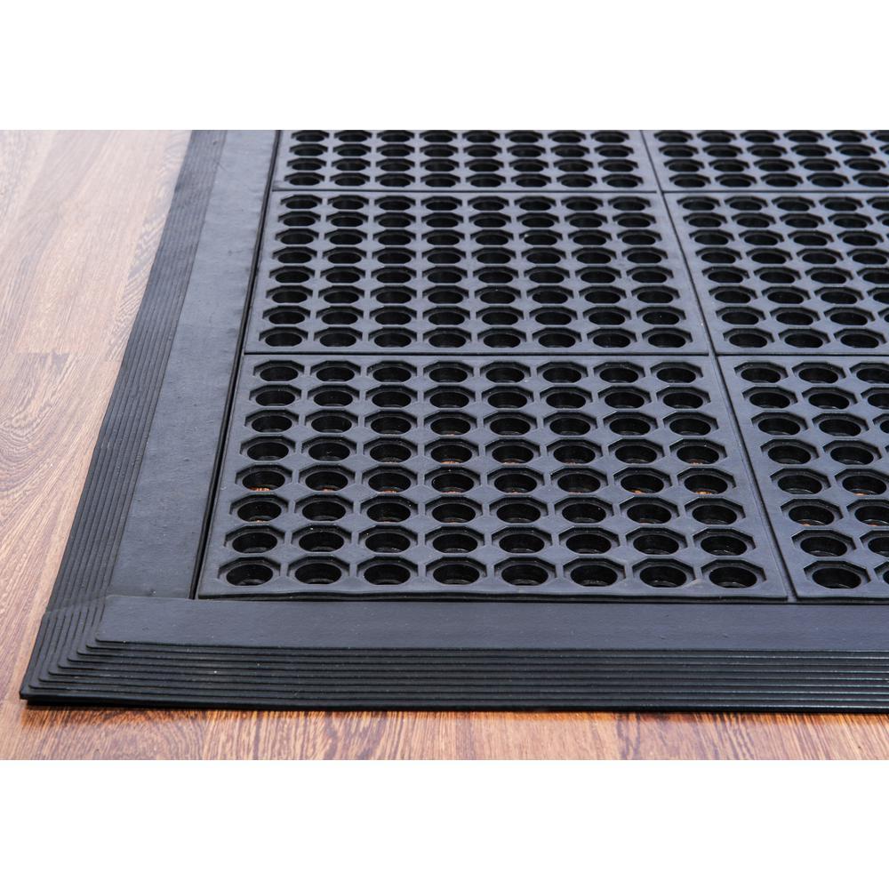 "Doortex Anti-FatigueMat - Modular System 36"" x 36"" - Black. Picture 2"