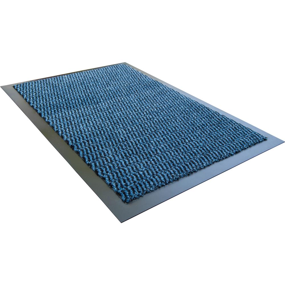 "Doortex Advantagemat Rectagular Indoor Enterance Mat in Blue (36""x60""). Picture 1"