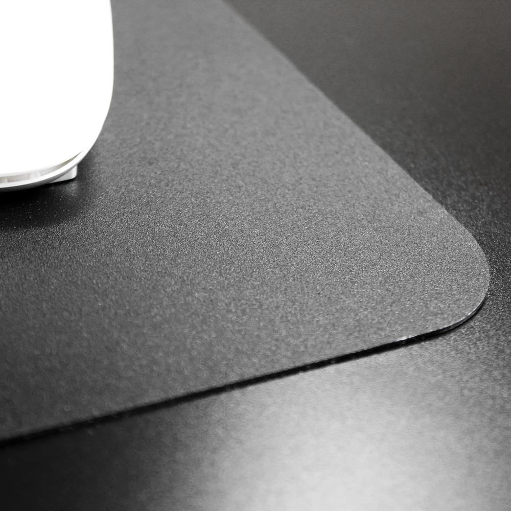 """Black Vinyl Rectangular Desk Pad - 20"""" x 36"""". Picture 6"""