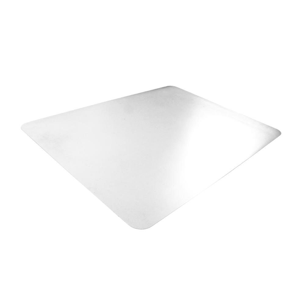 "Crystal Clear Vinyl Rectangular Desk Pad - 20"" x 36"". Picture 2"