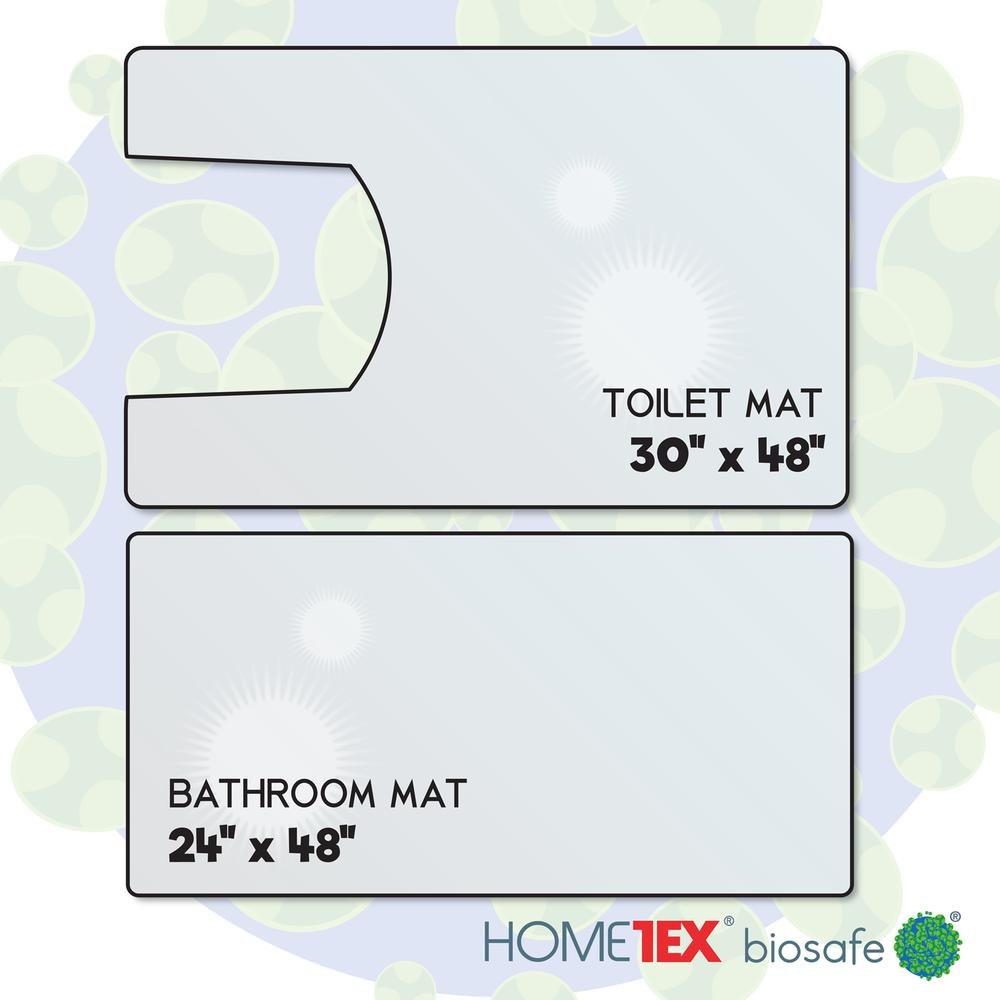 Hometex Biosafe, Bathroom Starter Set, 2 Anti-Microbial Mats. Picture 6