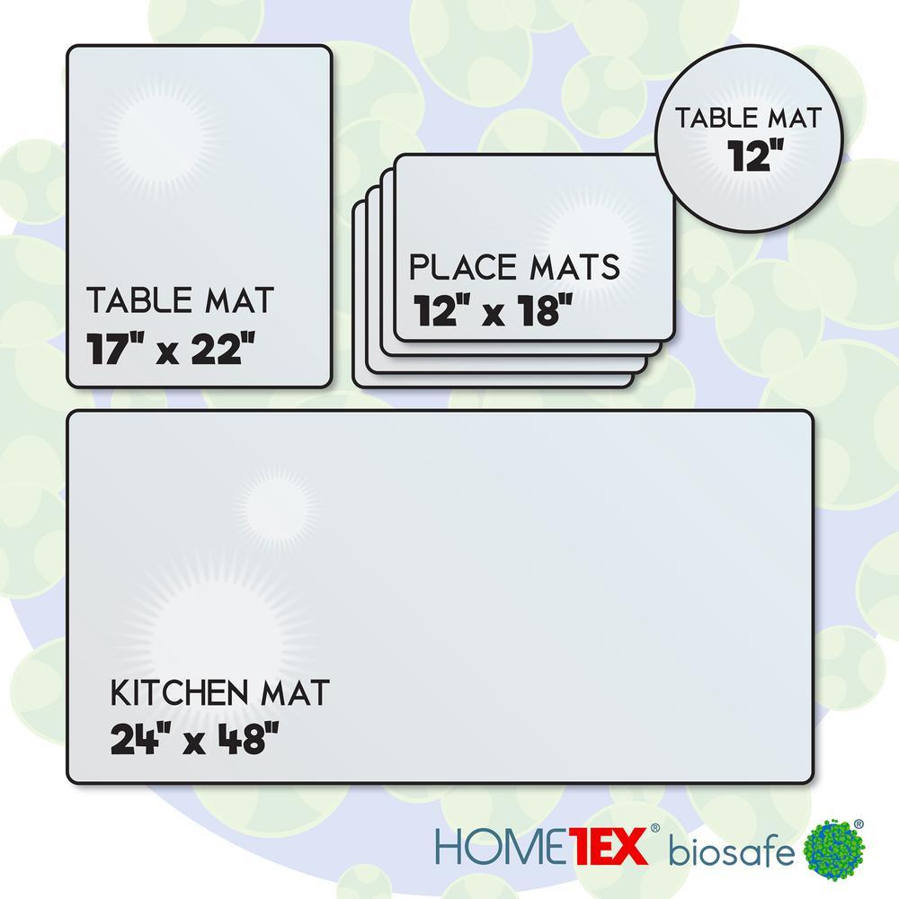 Hometex Biosafe, Kitchen Starter Set, 4 Anti-Microbial Mats. Picture 6