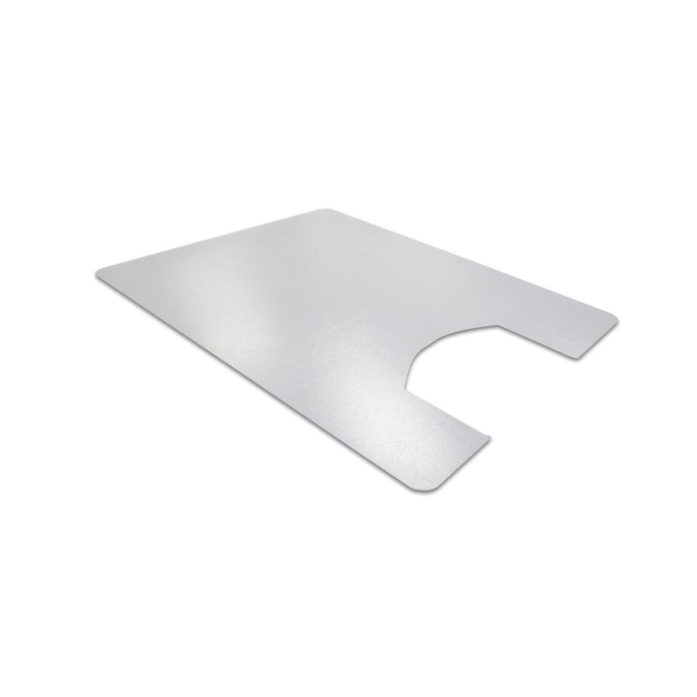 """Hometex Biosafe, Anti Microbial Toilet Floor Mat, Rectangular with Cut Out, Size 48"""" x 24"""". Picture 1"""