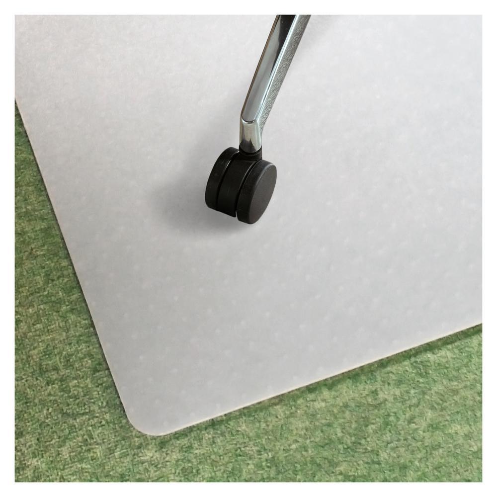 "Ecotex® Polypropylene Rectangular Chair Mat for Carpets - 29"" x 46"". Picture 2"