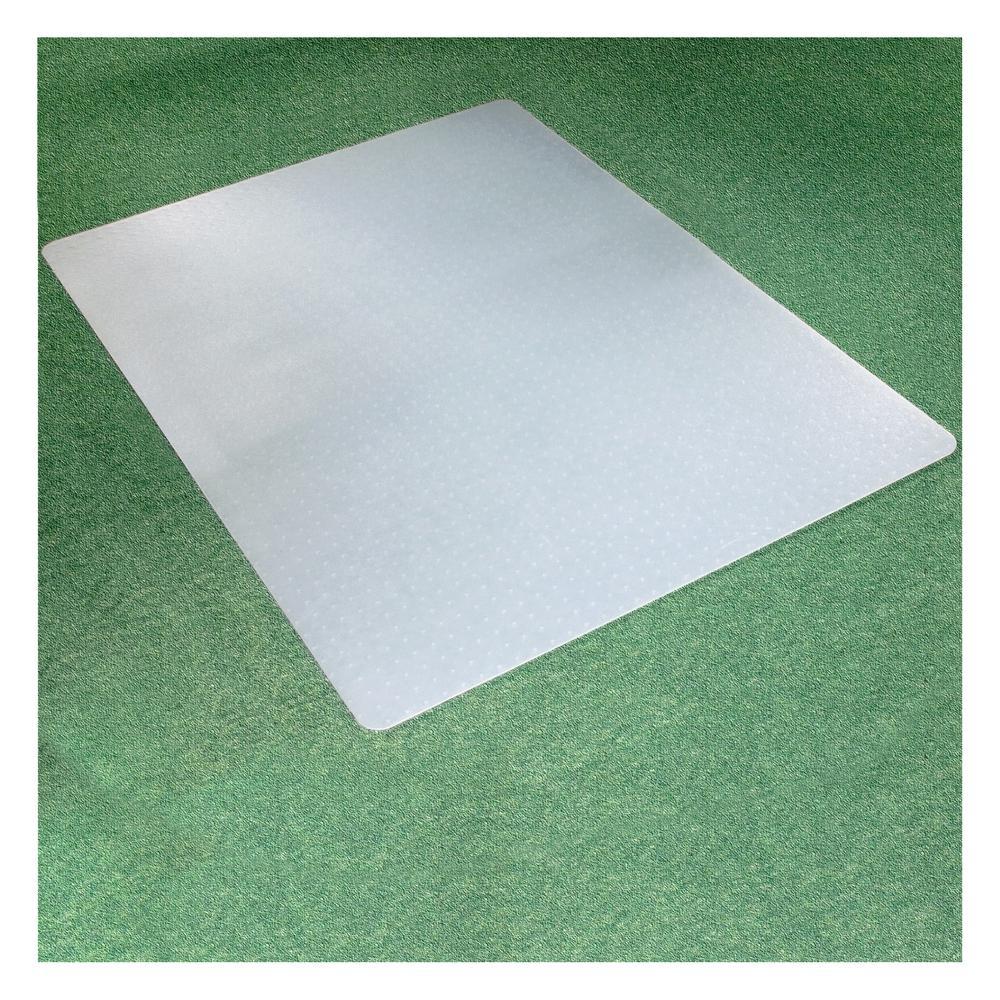 "Ecotex® Polypropylene Rectangular Chair Mat for Carpets - 29"" x 46"". Picture 5"