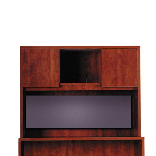 Tackboard For Alera Valencia Series Storage Hutch, 43.13w x 0.5d x 14h, Charcoal. Picture 4