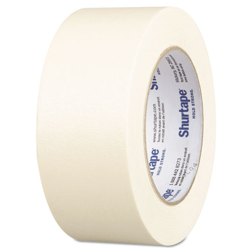 """CP-83-2 Utility Grade Masking Tape, 1.88"""" x 60.1 yds, Natural. Picture 1"""