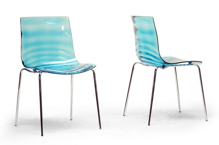 sc 1 st  Bison Office & Marisse Blue Plastic Modern Dining Chair
