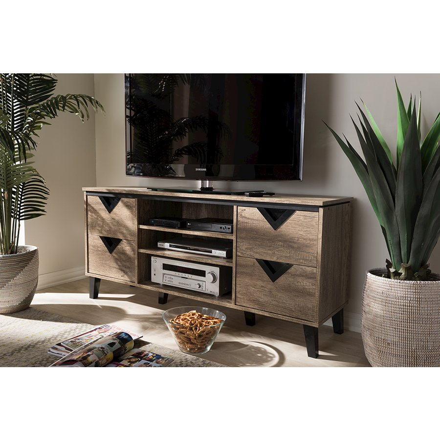 entertainment cabinets beacon modern and contemporary light brown wood 55 inch tv 15165