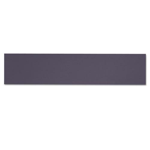Alera Valencia Tackboard For Open Storage Hutch, 62.38w x 0.5d x 14h, Charcoal. Picture 3
