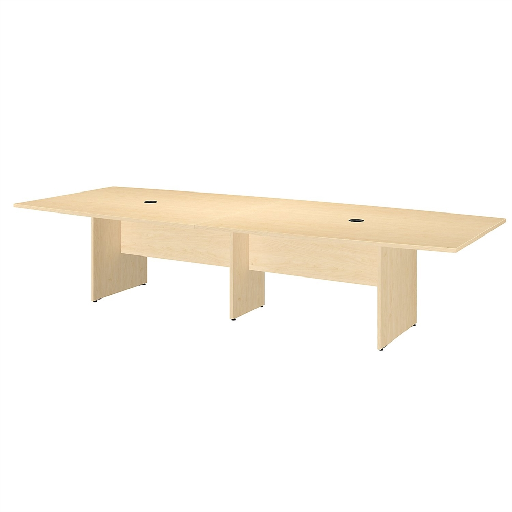 120l x 48w boat top conference table with wood base in for 120 conference table