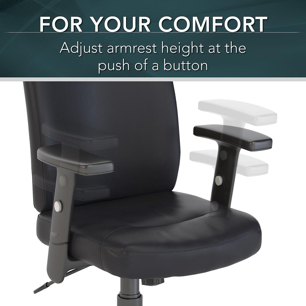 Stanton High Back Leather Executive Office Chair