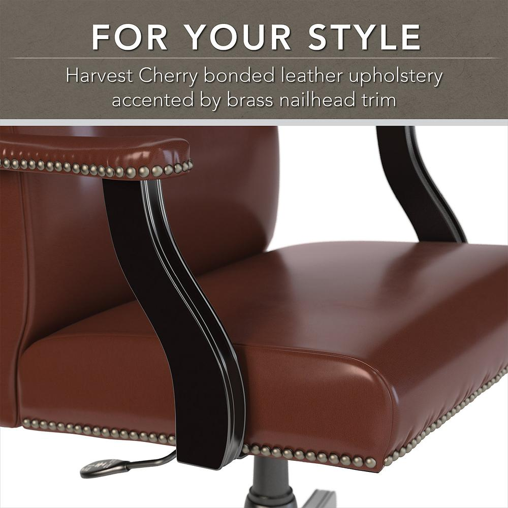 State High Back Leather Executive Office Chair