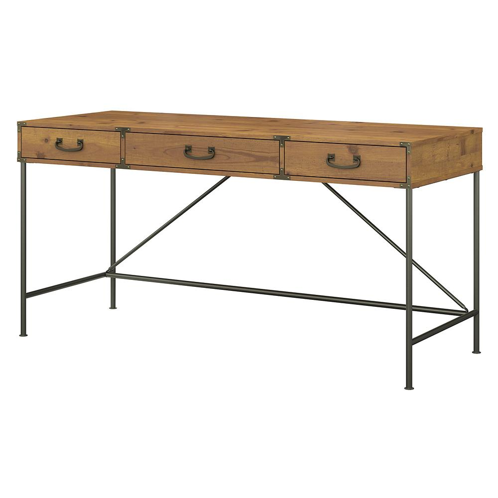 kathy ireland® Home by Bush Furniture Ironworks 60W Writing Desk with Drawers