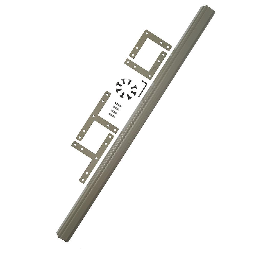 Bush Business Furniture ProPanels 2 Way or 3 Way Connector (for 66H Panels), Taupe. Picture 1