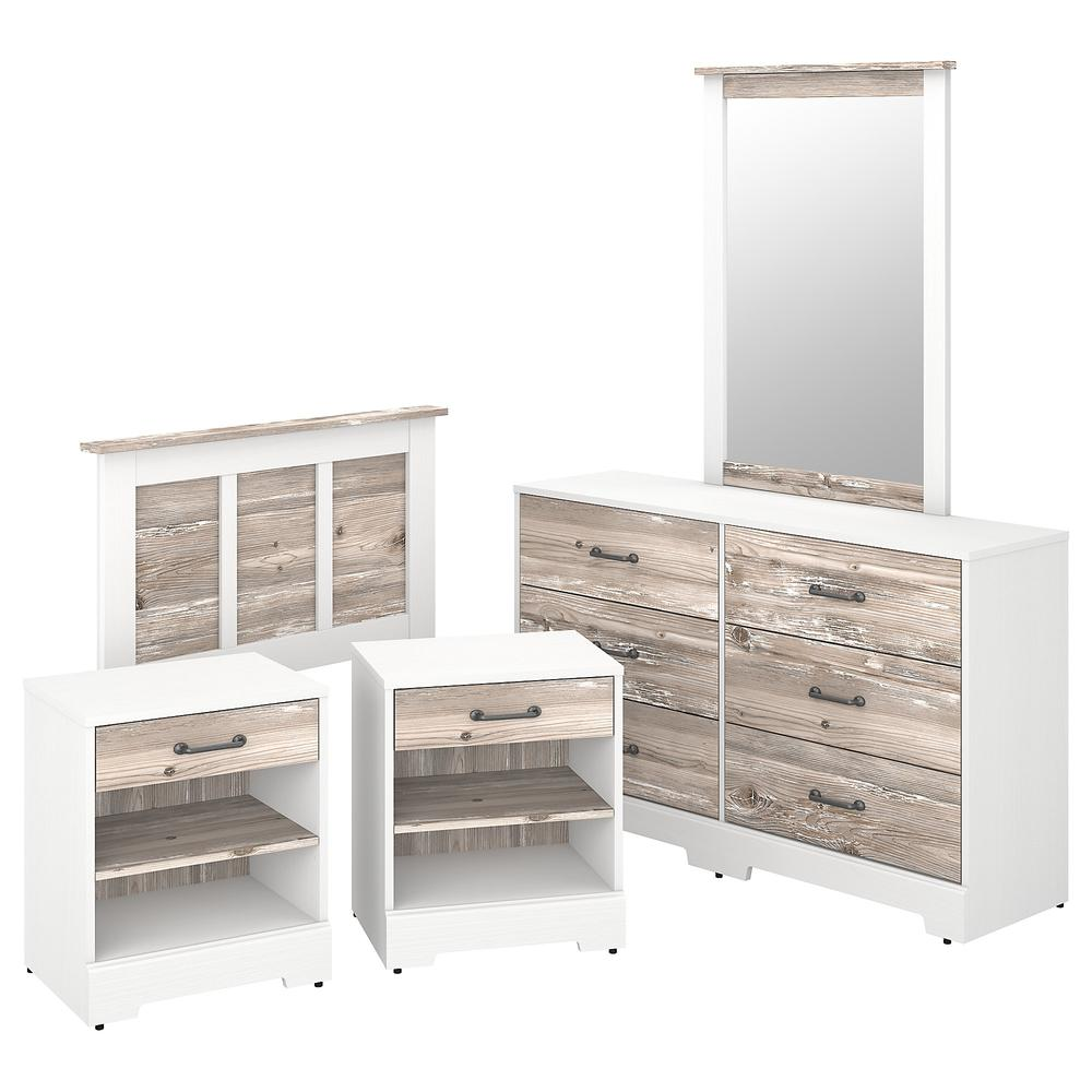 kathy ireland® Home by Bush Furniture River Brook 5 Piece ...