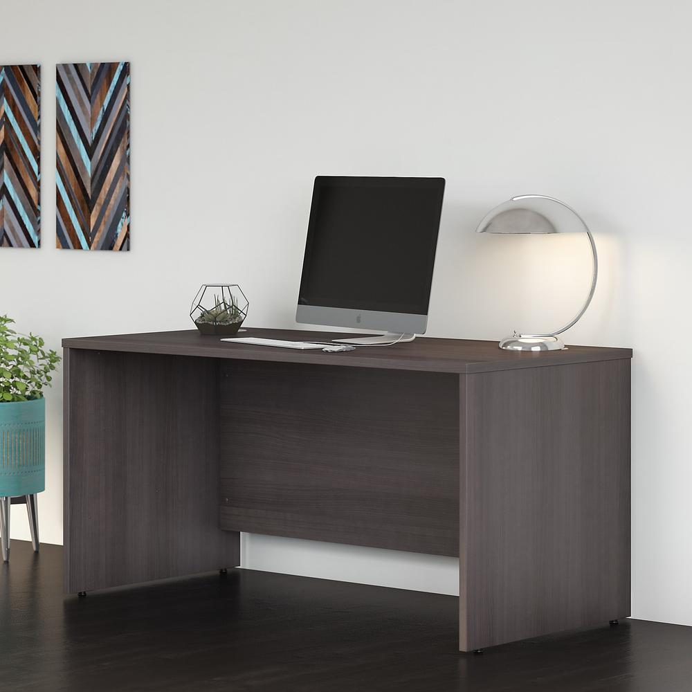 Bush Business Furniture Studio C 60W x 30D Office Desk, Storm Gray. Picture 2