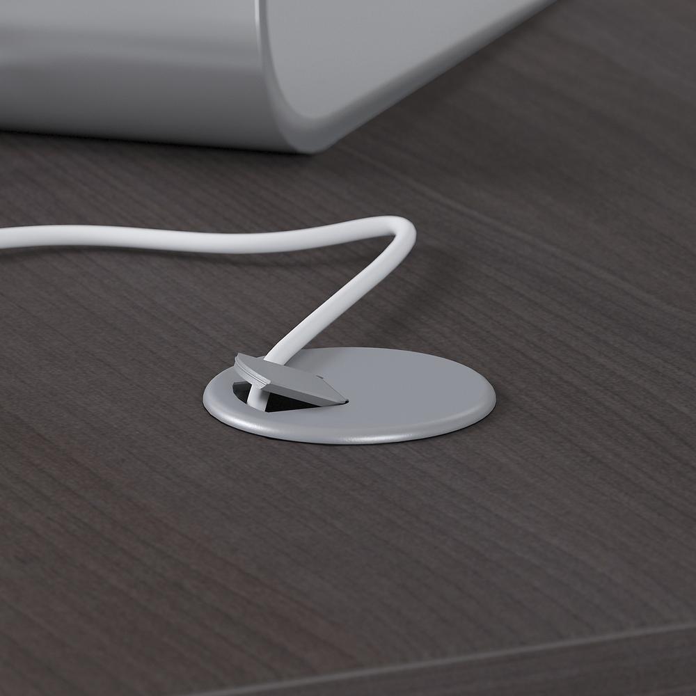 Bush Business Furniture Studio C 60W x 30D Office Desk, Storm Gray. Picture 3