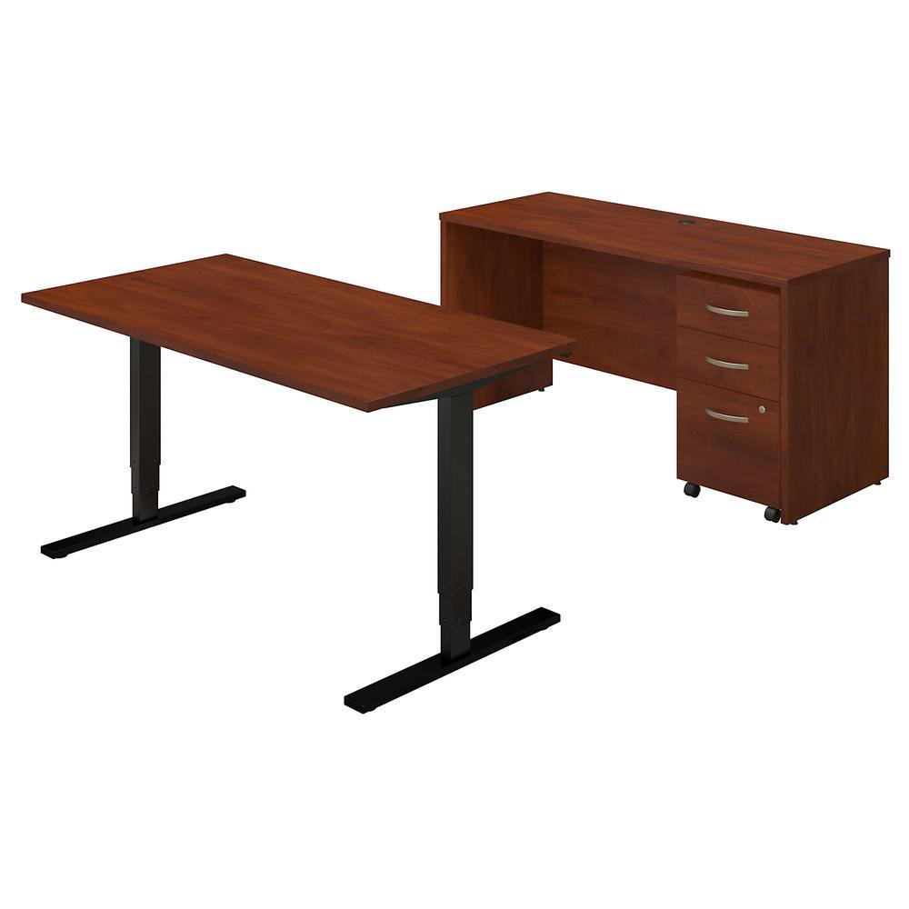 Series C Elite 60w Height Adjustable Standing Desk With