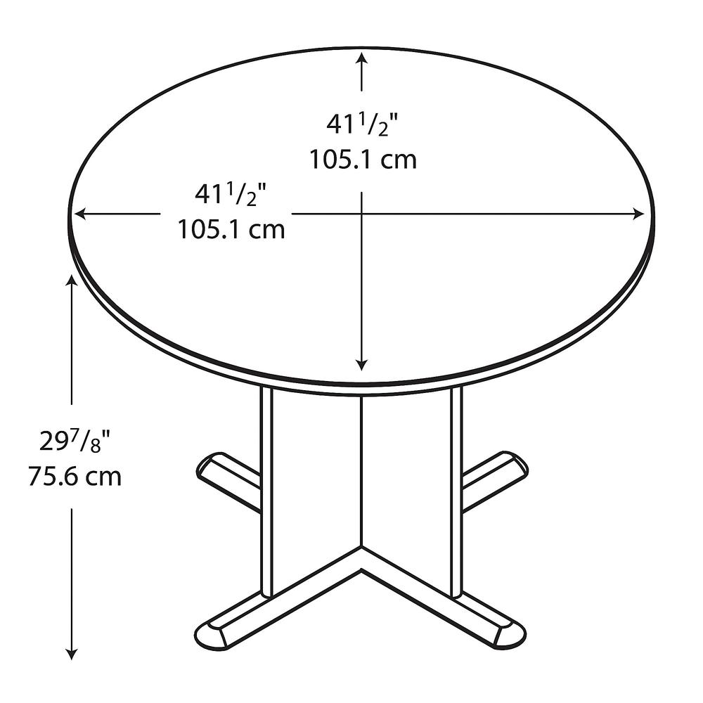 Series C Inch Round Conference Table - 42 inch round conference table