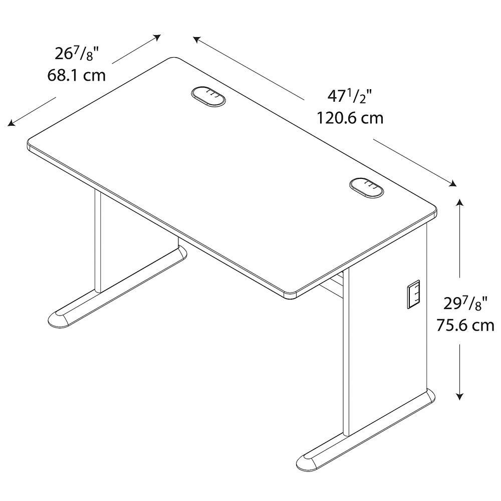 Series A 48W Desk