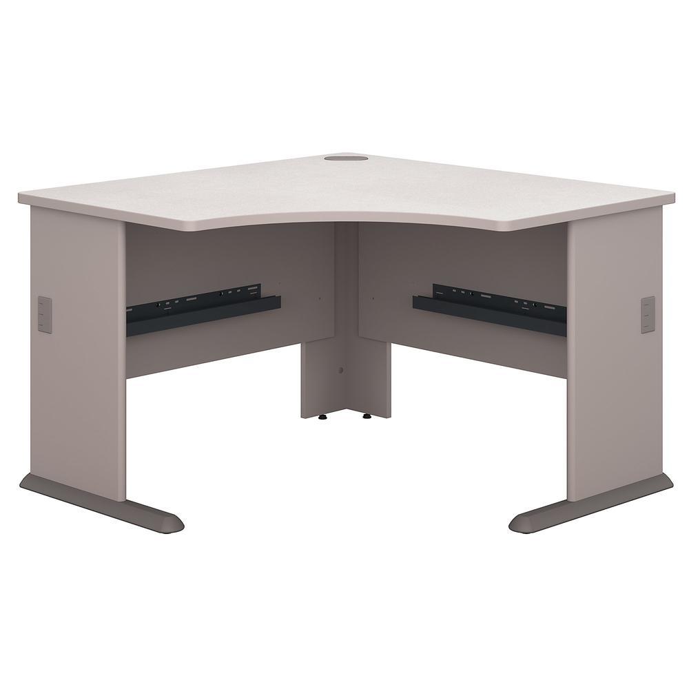 Bush Business Furniture Series A 48W Corner Desk, Pewter. Picture 1