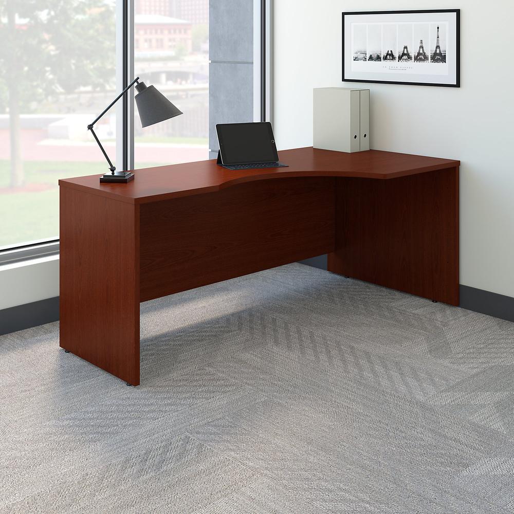 Bush Business Furniture Series C 72W Right Handed Corner Desk, Mahogany. Picture 2