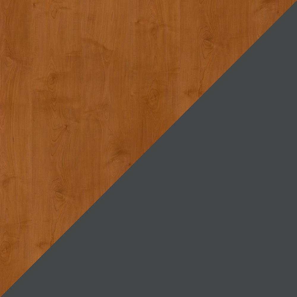 Bush Business Furniture Series A 60W Desk, Natural Cherry/Slate. Picture 6
