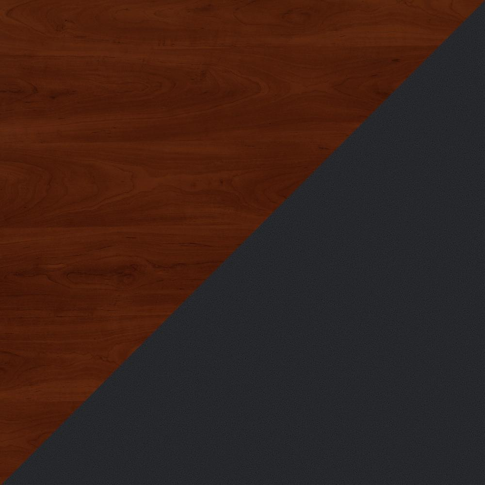 Bush Business Furniture Series A 3 Drawer Mobile File Cabinet, Hansen Cherry/Galaxy. Picture 6
