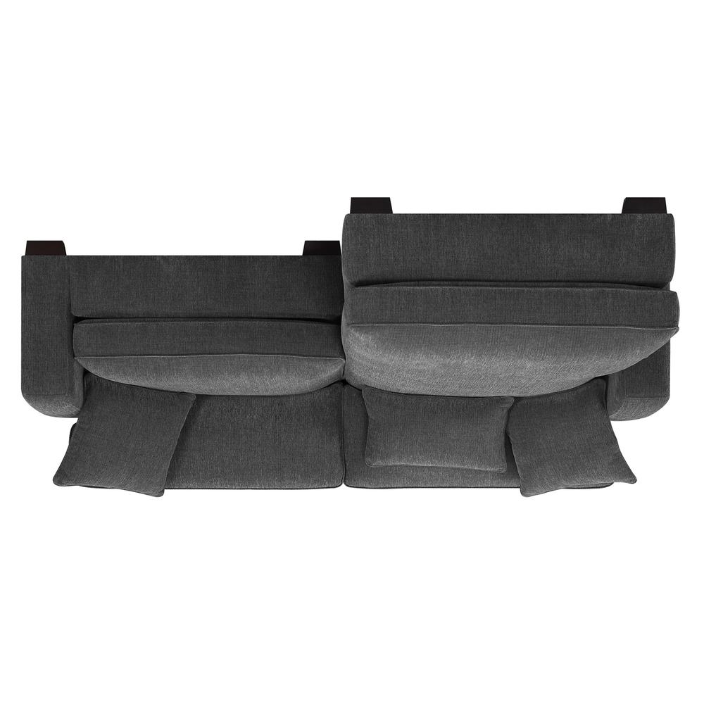 Repose 2pc Sectional Lsf Chaise Rsf Chaire W 3 Pillows