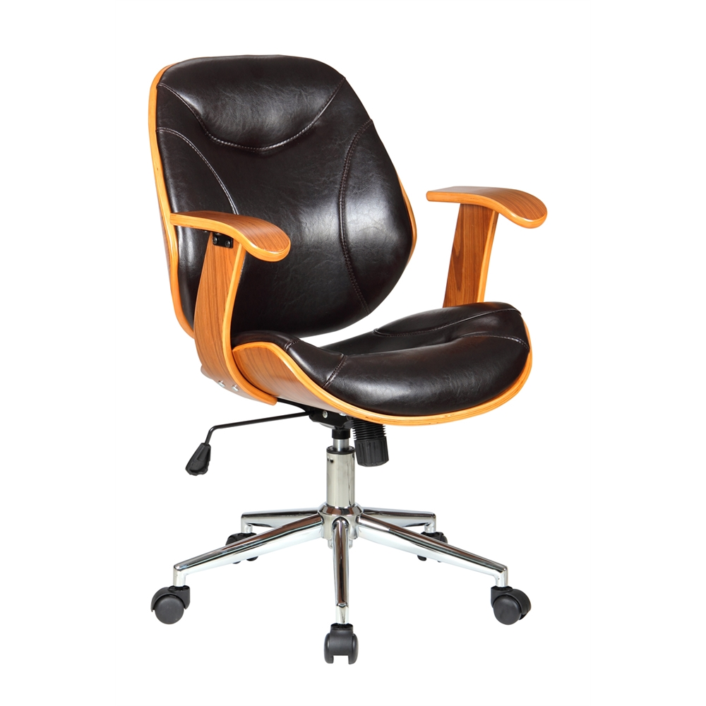 Rigdom Desk Chair Brown
