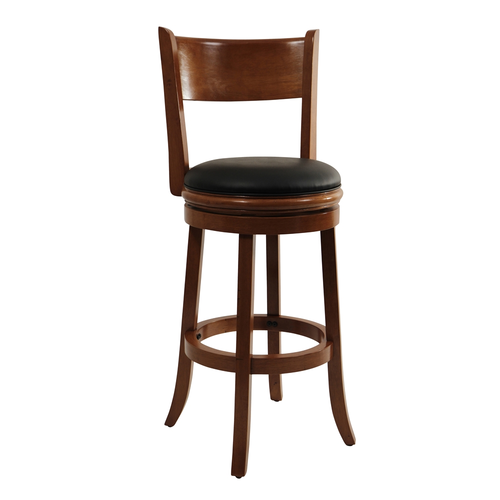 29 Quot Palmetto Swivel Stool Fruitwood