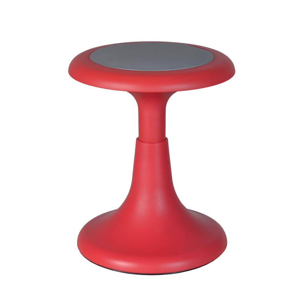 """Glow 15"""" Stool, Red. Picture 1"""