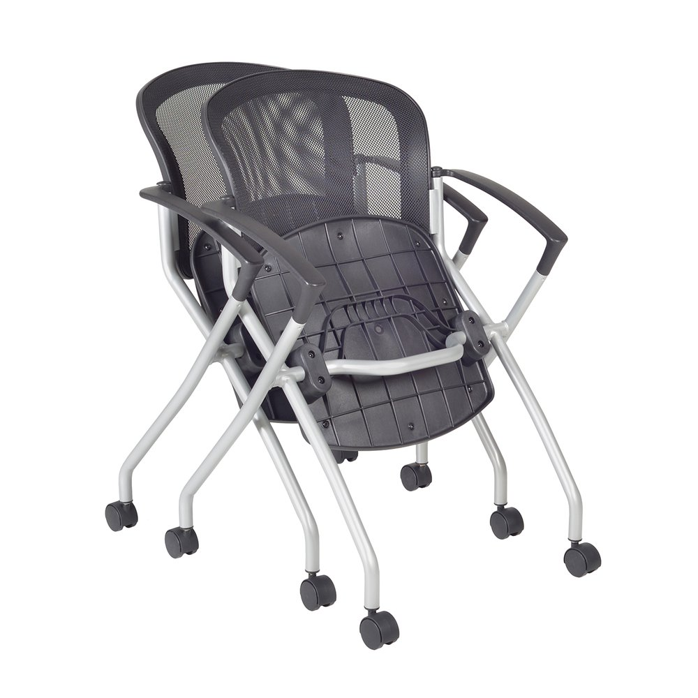 Cadence Nesting Chair (12 pack)- Black