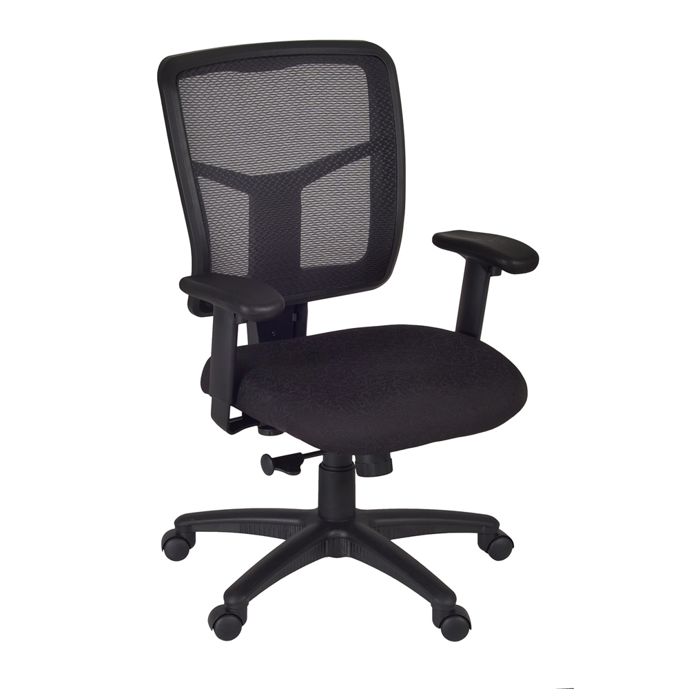 Kiera Swivel Chair- Black. Picture 1