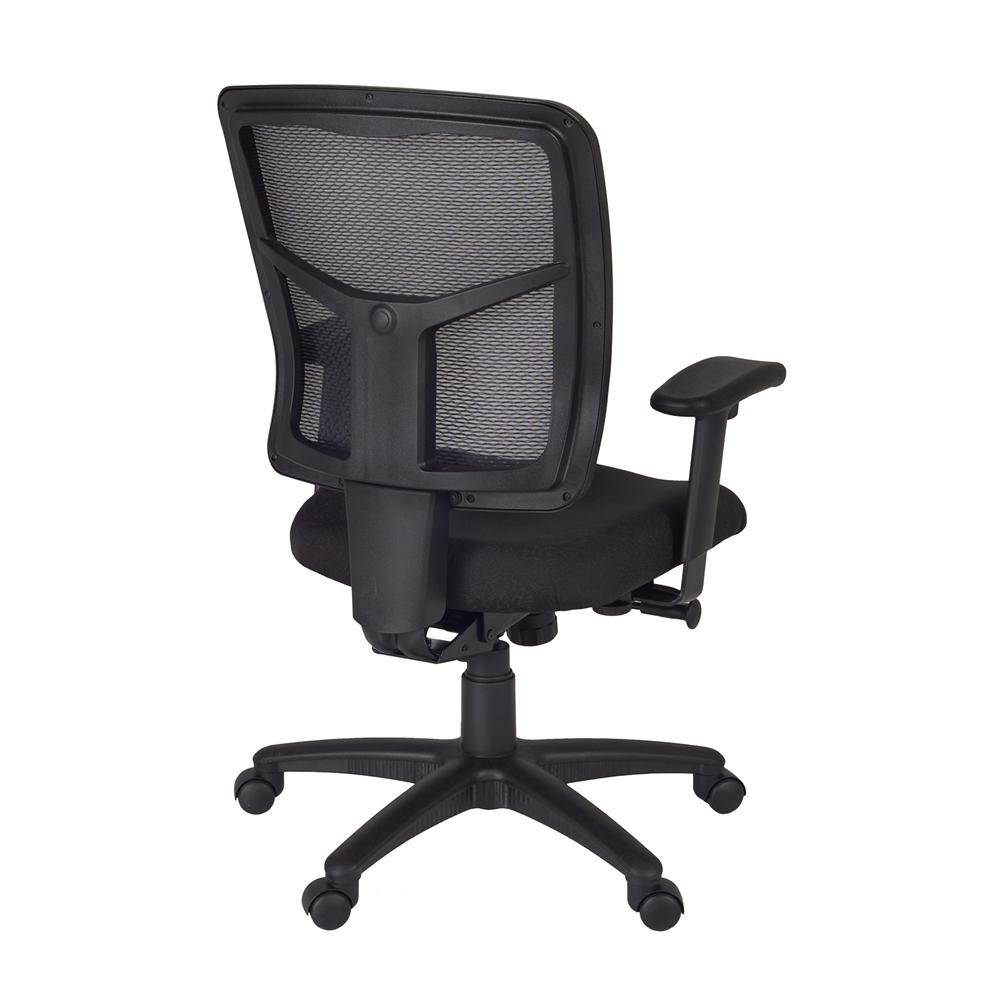 Kiera Swivel Chair- Black. Picture 2