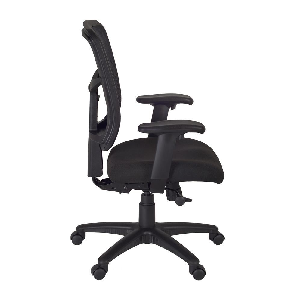 Kiera Swivel Chair- Black. Picture 3
