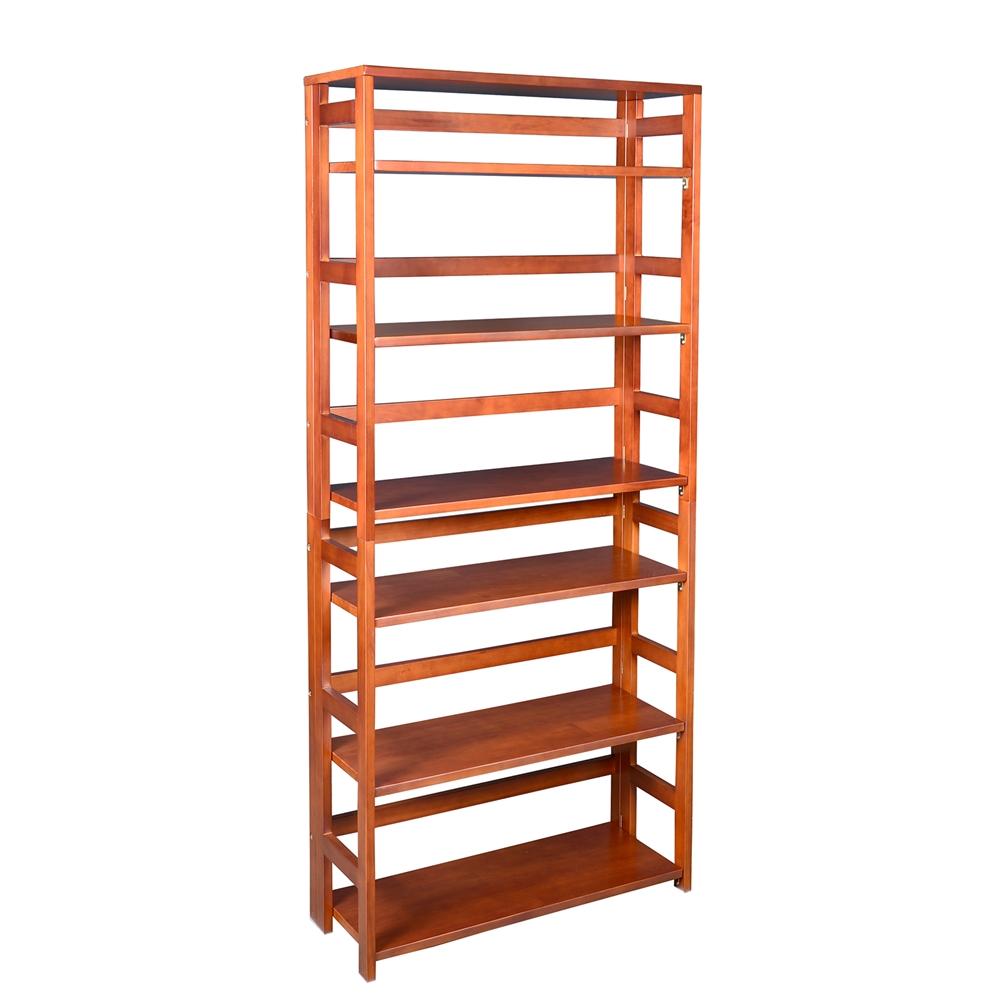 Flip Flop 67 Quot High Folding Bookcase Cherry
